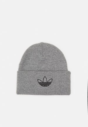 OUTLINE CUFF UNISEX - Beanie - grey