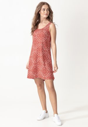 BOBOLINA - Day dress - red