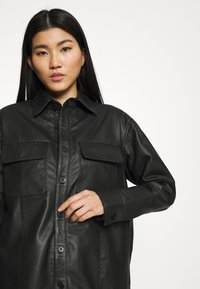 Deadwood - SHORELINE - Short coat - black - 4