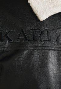 Karl Kani - RETRO JACKET - Faux leather jacket - black - 6