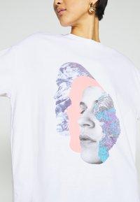Monki - CISSI TEE  - T-shirts - white - 5
