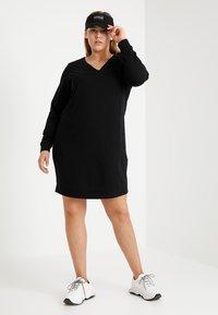 Zizzi - MGUNVUR DRESS - Day dress - black - 2
