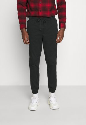 JJIGORDON JJLANE - Trousers - black