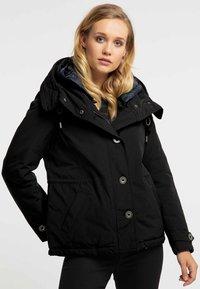 DreiMaster - Winter jacket - black - 0