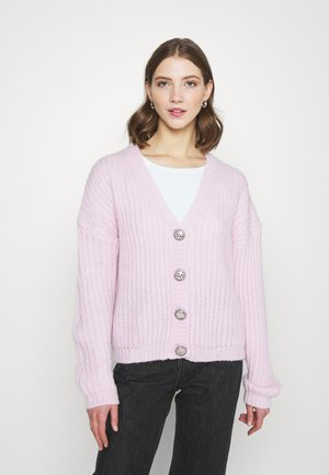 VINSE - Strickjacke - bright lavender