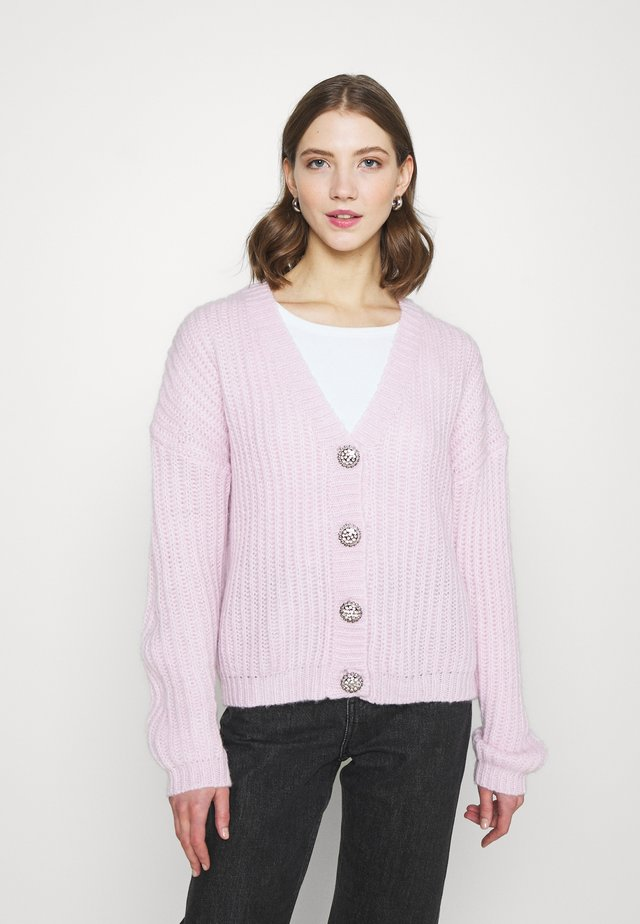 VINSE - Cardigan - bright lavender