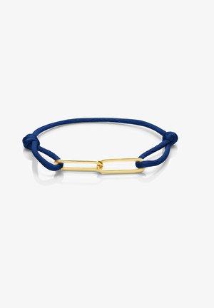 14 CARAT GOLD - Bracelet - blau