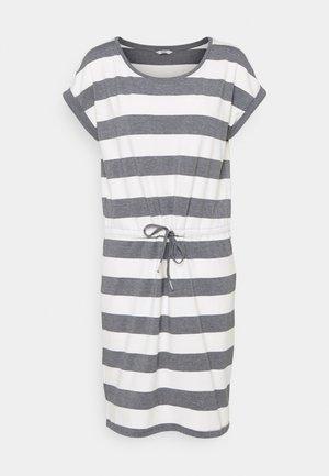 ONLAMBER FOLD UP DRESS - Jersey dress - cloud dancer