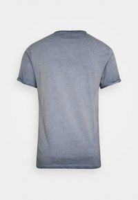 Key Largo - OUTCOME BUTTON - T-shirt con stampa - steel blue - 6
