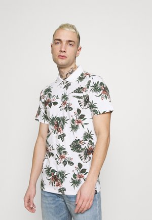 TESCO PRINT - Polo - white