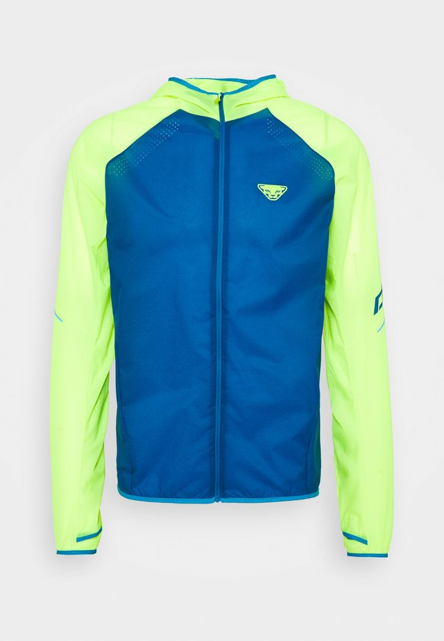ALPINE WIND  - Outdoorjas - fluo yellow