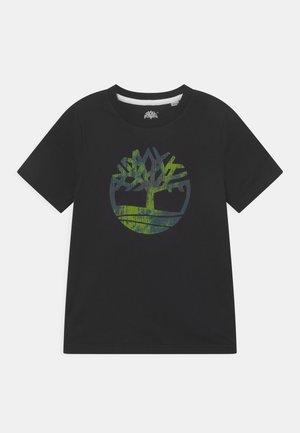 SHORT SLEEVES TEE - Print T-shirt - black