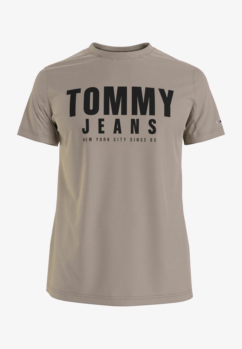 Tommy Jeans - Print T-shirt - beige