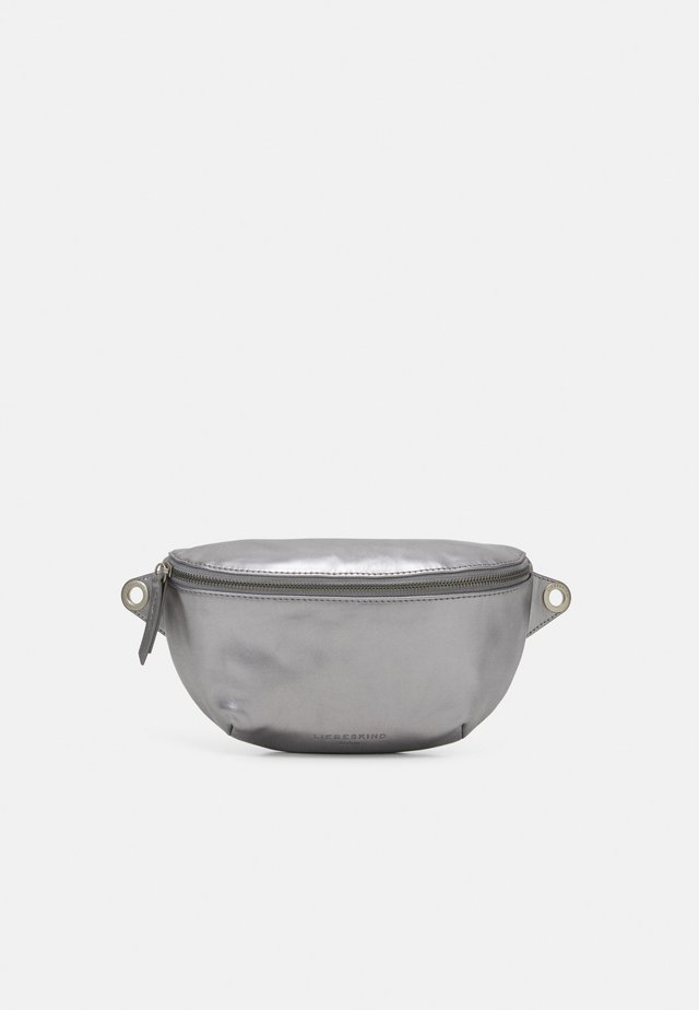 TAVIA - Bæltetasker - silver lead