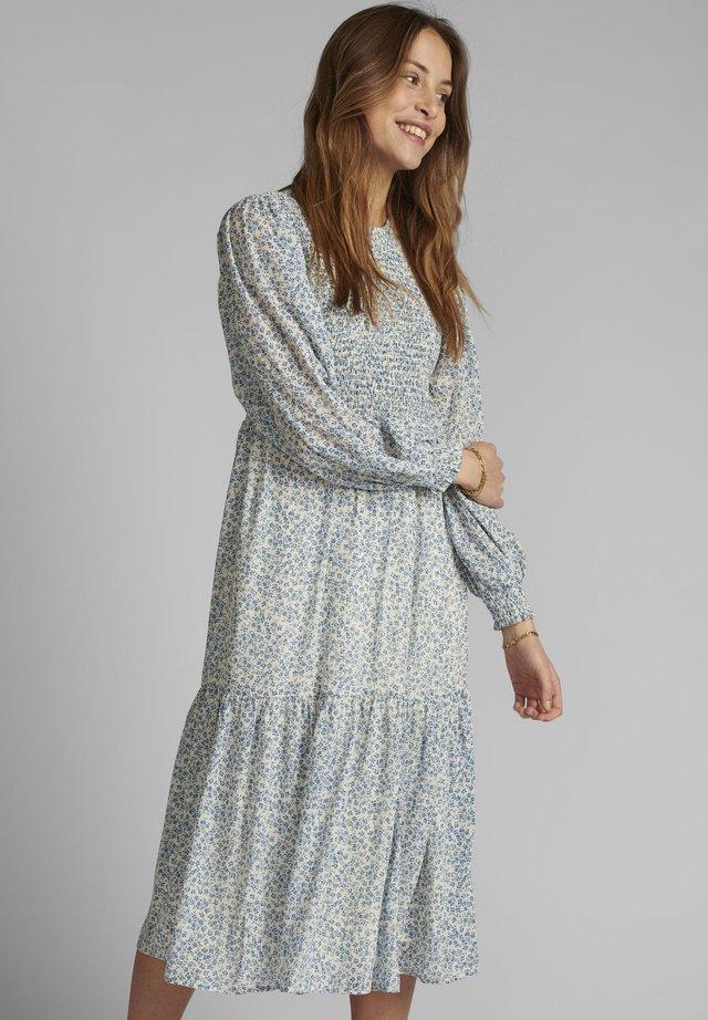 NUCALTUM  - Day dress - wedgewood