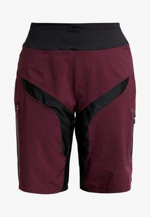 HALE SHORTS - kurze Sporthose - hickory black