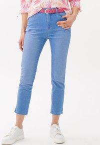 BRAX - STYLE CARO  - Slim fit jeans - used fresh blue - 0
