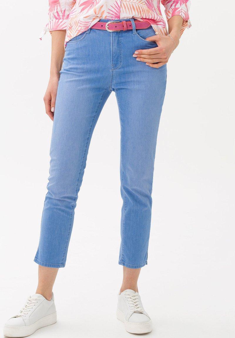 BRAX - STYLE CARO  - Slim fit jeans - used fresh blue
