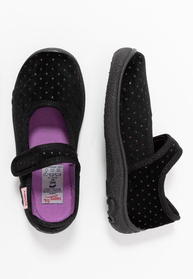 BELINDA - Slippers - schwarz