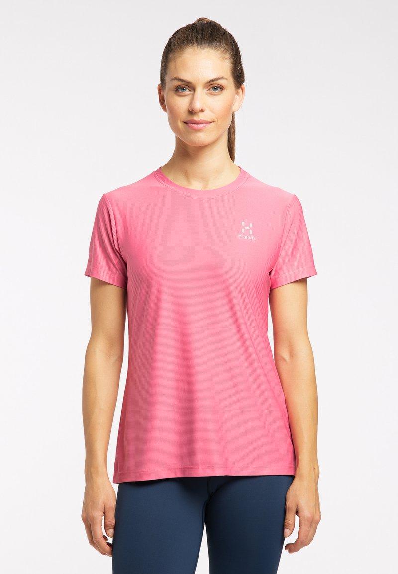Haglöfs - Basic T-shirt - tulip pink