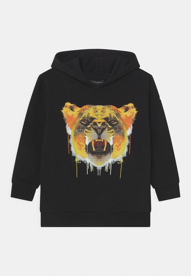 HOOD TIGER - Sweatshirt - black