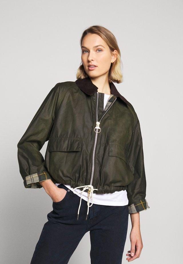 HARRIET - Summer jacket - archive olive/ancient