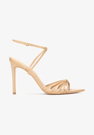 IRINA - Sandály na vysokém podpatku - light brown