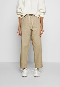 Champion Reverse Weave - LONG PANTS - Trousers - beige - 0