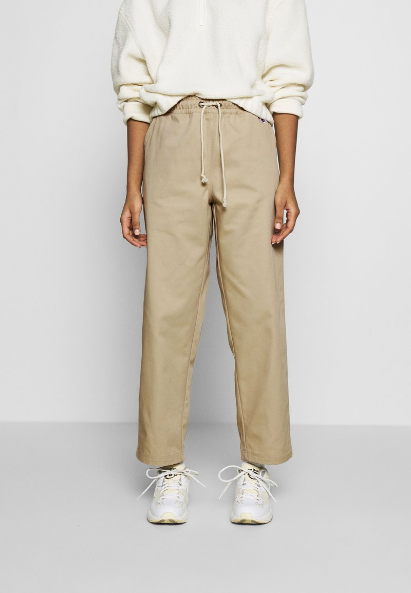 Champion Reverse Weave - LONG PANTS - Trousers - beige