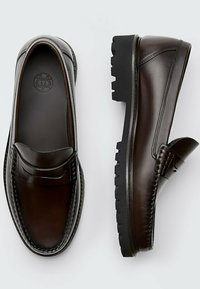 Massimo Dutti - Smart slip-ons - brown - 1