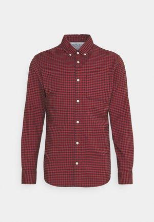 JPRBLUBROOK GINGHAM SHIRT - Camisa - brick red