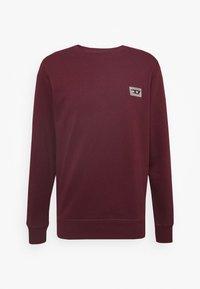 Diesel - UMLT-WILLY SWEAT-SHIRT - Pyjama top - burgundy - 3