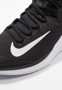 Nike Performance - AIR ZOOM HC - Multicourt tennis shoes - black/white/bright crimson - 5
