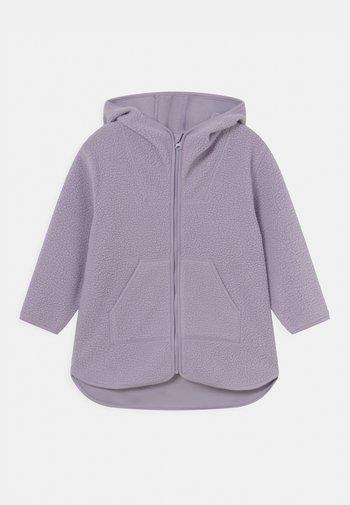 Fleece jacket - light purple