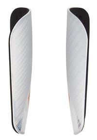 adidas Performance - X PRO - Schienbeinschoner - silver metallic/hire red/black - 3