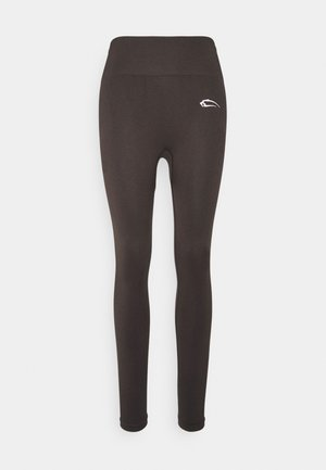 SEAMLESS LEGGINGS COOL - Legginsy - grau