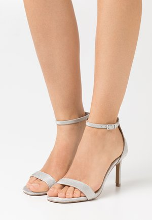 ELLA - High heeled sandals - silver
