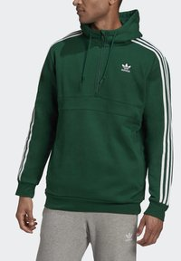 adidas Originals - STRIPES HOODIE - Hoodie - green - 7