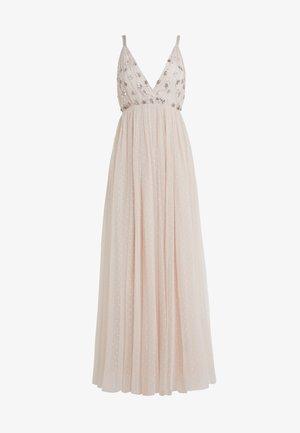 NEVE EMBELLISHED BODICE DRESS - Vestido de fiesta - pearl rose