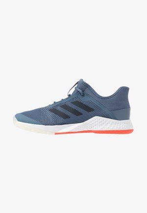 ADIZERO CLUB - Multicourt tennis shoes - tech ink/legend ink/active orange