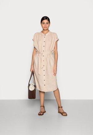DRESS - Sukienka koszulowa - beige