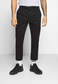 Only & Sons - ONSCAM CROPPED - Chino kalhoty - black - 0