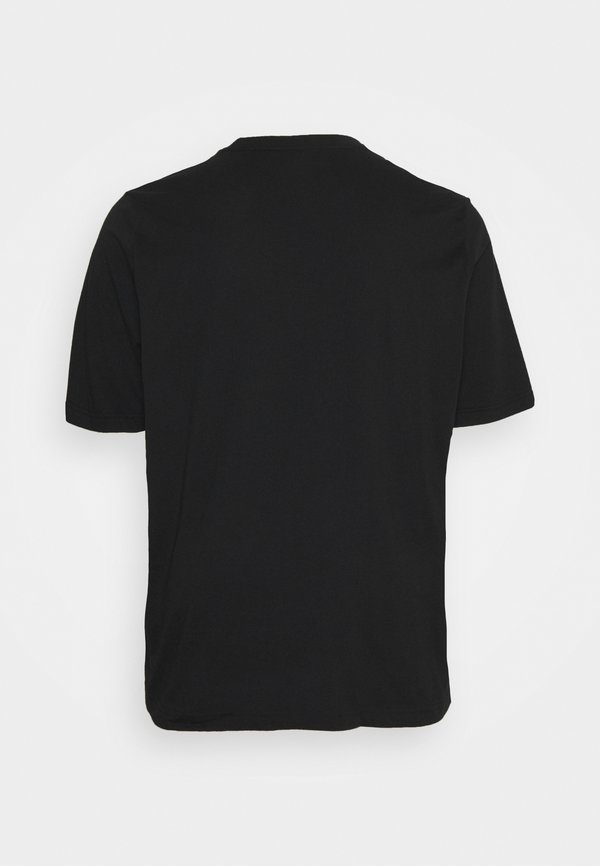 Calvin Klein LOGO - T-shirt basic - black/czarny Odzież Męska VXAS