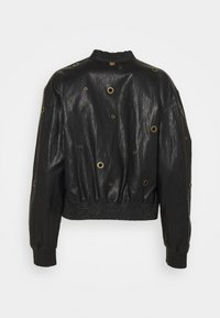 TWINSET - BOMBER IN TESSUTO - Faux leather jacket - nero - 1