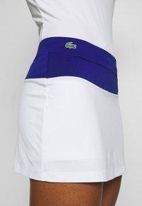 Lacoste Sport - TENNIS SKIRT - Sportovní sukně - cosmic/white/greenfinch - 3