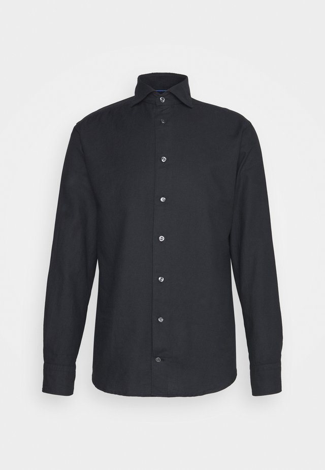 SLIM SOFT MICRO WOVEN SHIRT - Zakelijk overhemd - black