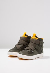 Palladium - PALLASTREET MID - High-top trainers - olive night/gold - 3