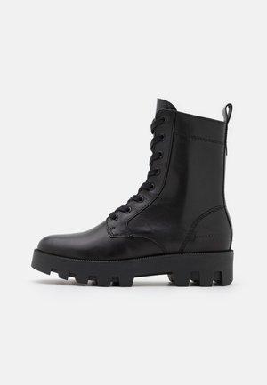 PILAR  - Platform ankle boots - black