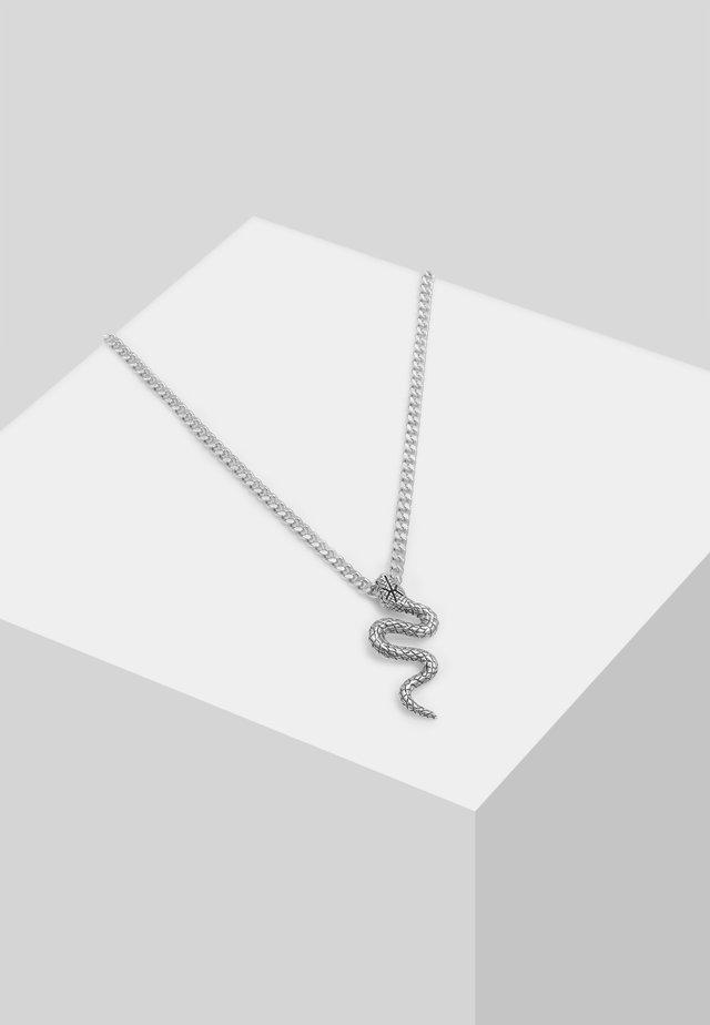 SCHLANGEN-ANHANGER - Necklace - silber