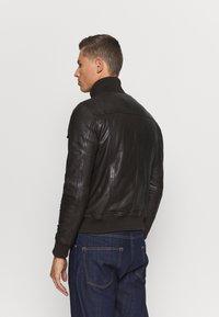 Serge Pariente - DANY - Leather jacket - brown - 2